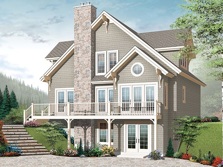 Mountain Home Plan, 027H-0228