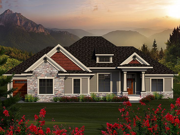 Traditional House Plan, 020H-0349