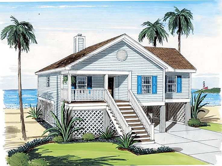 Plan 047h 0077 find unique house plans home plans and for Beach house plans 1 story