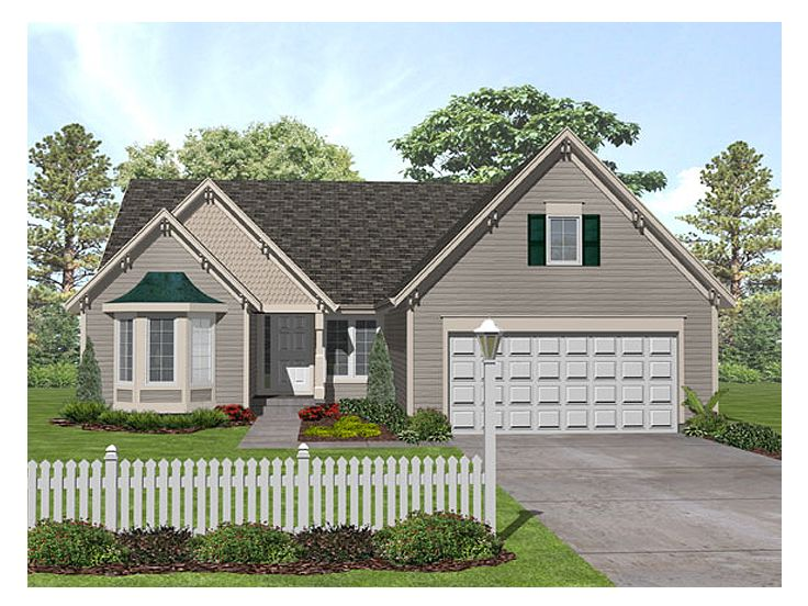 1-Story House Plan, 016H-0016