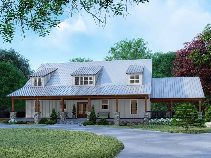 Country House Plan, 074H-0092