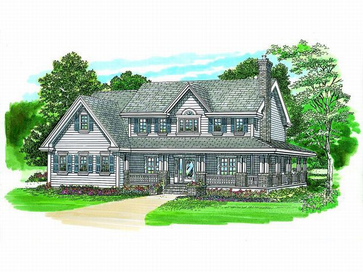 Country Home, 032H-0067