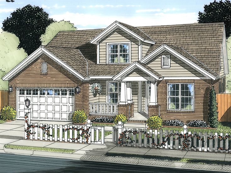 Two-Story House Plan, 059H-0169