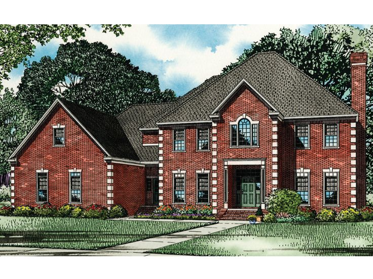 Two-Story House Design, 025H-0142
