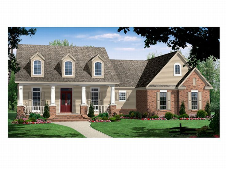Country Home Plan, 001H-0109