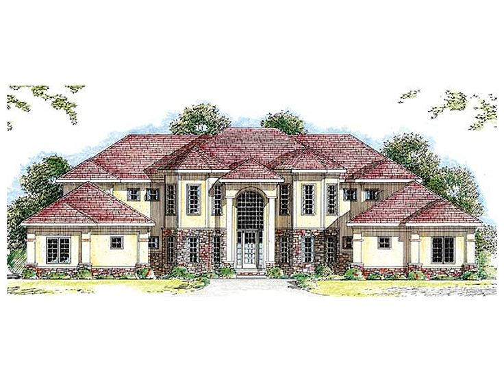Luxury House Plan, 050H-0039