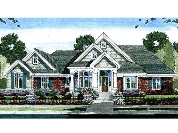 Luxury House Plan, 046H-0032