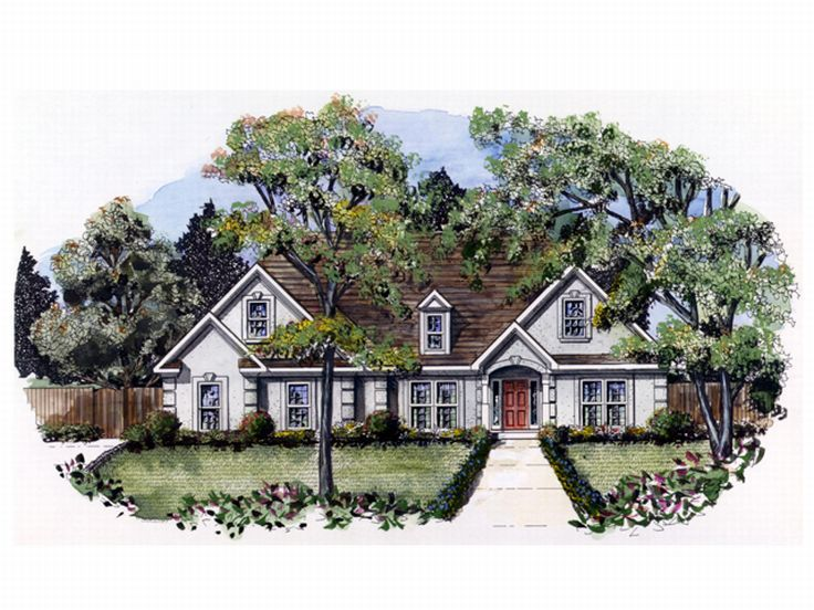 Sunbelt Home Design, 019H-0023