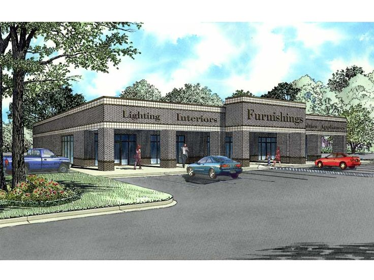 Strip Mall Plan, 025C-0028