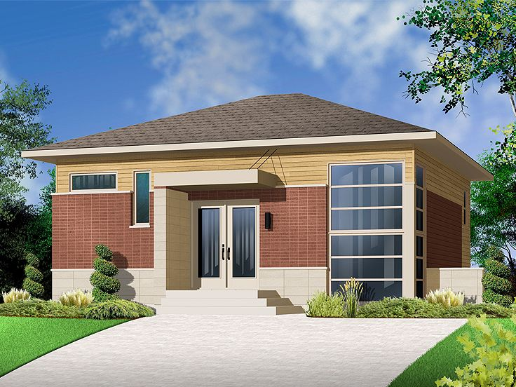 Contemporary Home, 027H-0259