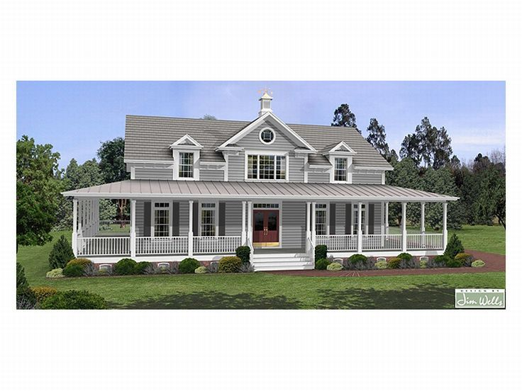 Country Home Plan, 007H-0061