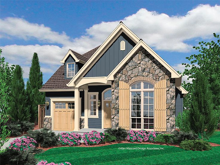 Plan 034h 0157 find unique house plans home plans and for Small english cottage plans