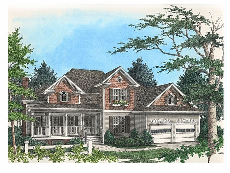 2-Story Home Plan, 007H-0074
