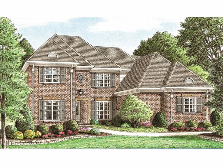 2-Story House Plan, 011H-0031