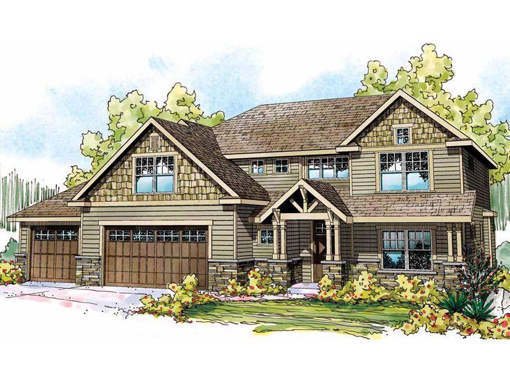 Home Plans Design Craftsman Style Custom House Designs