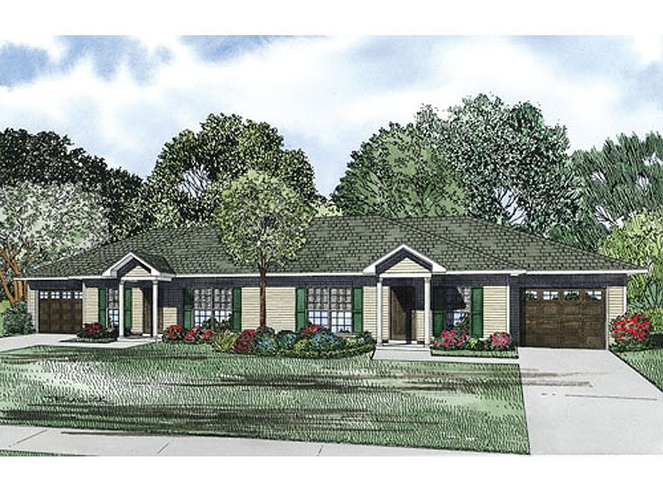 Multi-Family House Plan, 025M-0082