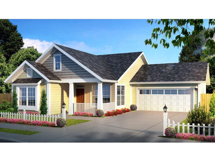 Starter home plans ideas home building plans 54327 for Small starter house plans