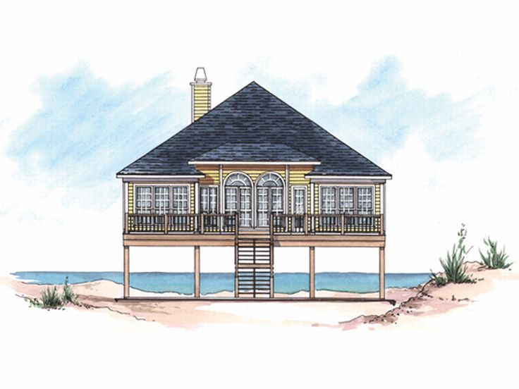 Beach Bungalow Home 017H 0002
