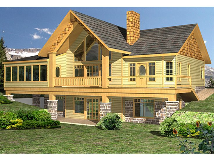 Craftsman House Plan, 012H-0177