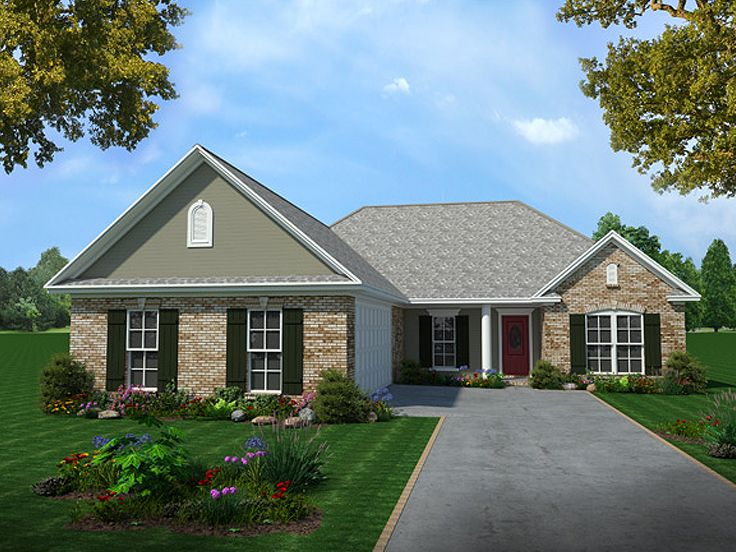 Affordable House Plan, 001H-0036