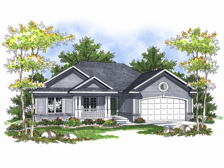 Small Home Plan, 020H-0113