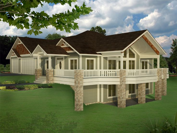 Northwest House Plan, 012H 0245