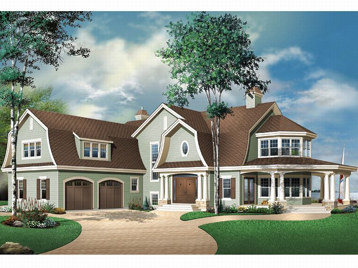 Country Home Plan, 027H-0098