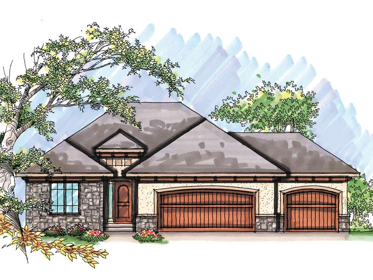European Home Plan, 020H-0213
