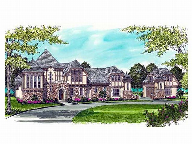 Chateau House Plan, 029H-0078