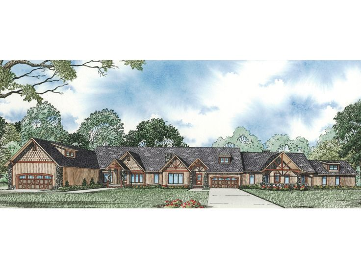 Multi-Family Home Plan, 025M-0073