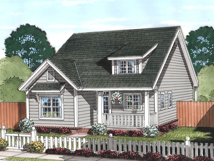 Bungalow Home, 059H-0194