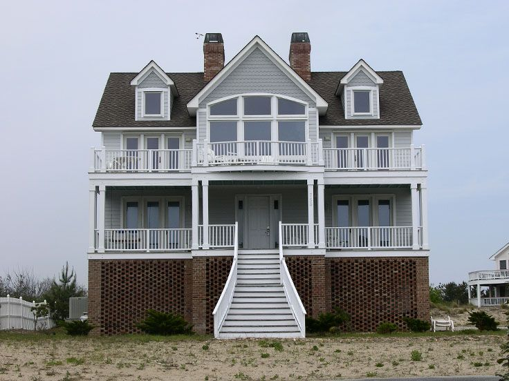 Beach Home Design, 041H-0063