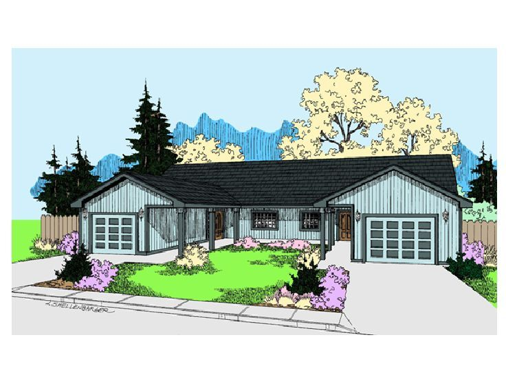 Multi-Family House Plan, 013M-0024