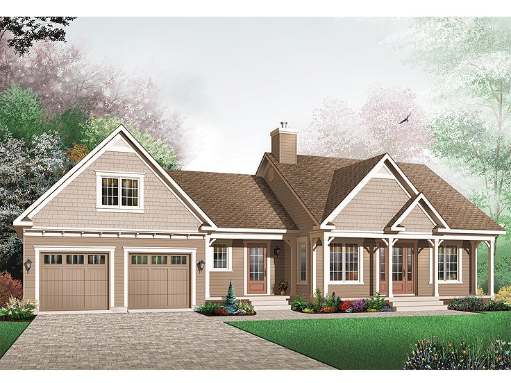 One-Story Home Plan, 027H-0180