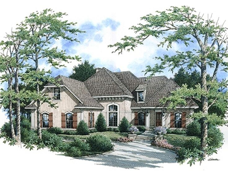 Sunblet House Plan, 021H-0232