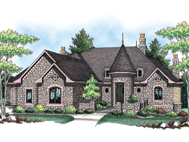 European Home Plan, 020H-0196