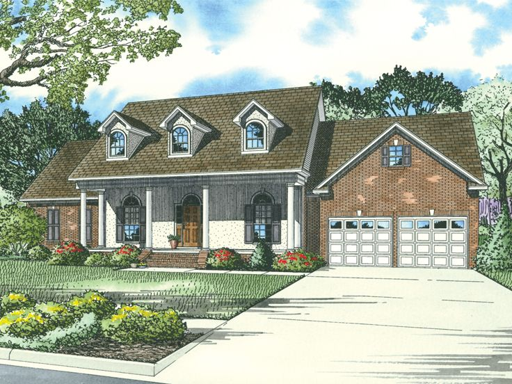 European House Plan, 025H-0144
