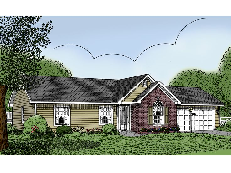 Small House Plan, 044H-0001