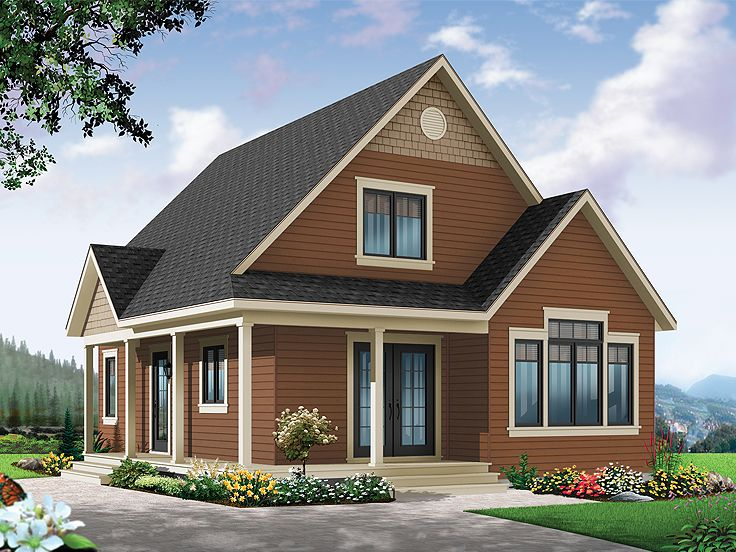 Vacation Home Plan, 027H-0331