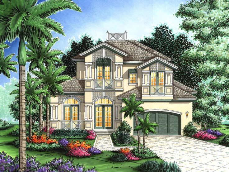 Coastal Home Plan, 040H-0003