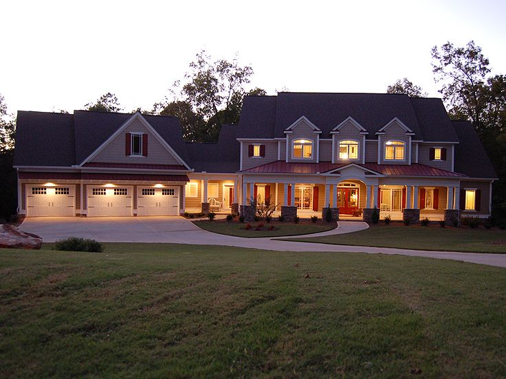Two-Story House Plan, 019H-0034