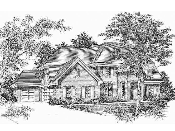 Luxurious Home Plan, 061H-0125