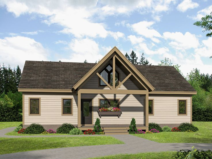 Vacation House Plan, 062H-0138