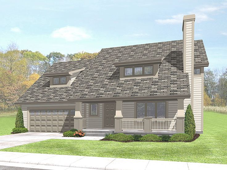 Affordable House Plan, 016H-0040