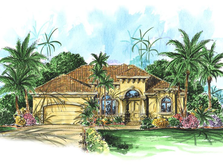Florida Ranch House, 037H-0088