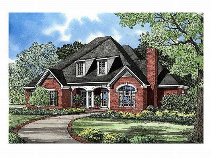 Two-Story House Plan, 025H-0023