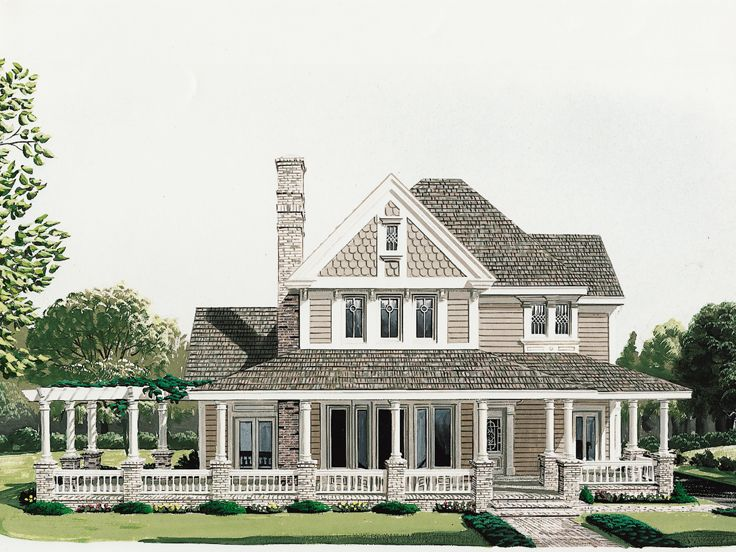 Country House Plan, 054H-0023