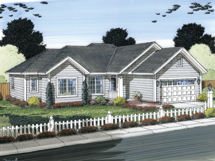 Traditional Home Plan, 059H-0139