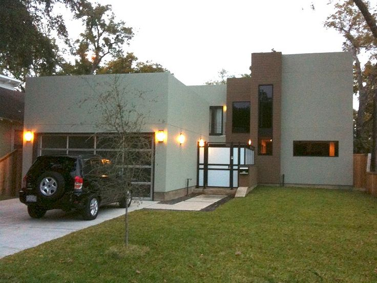 Unique Modern House, 052H-0023