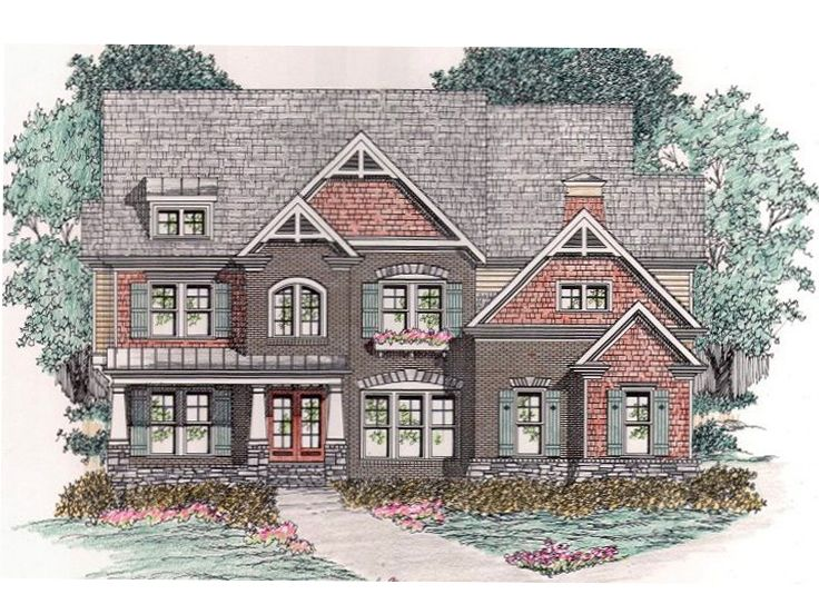 Craftsman House Plan, 045H-0029